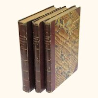 """Master Humphrey's Clock"" by Charles Dickens, First Edition, 3 Volumes, c1840-1841"