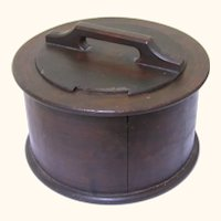 Rare Pennsylvania German Doughnut Box, early 19th Century