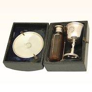 Boxed Portable Holy Communion Set, c1899