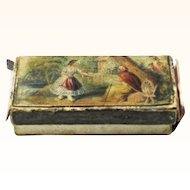 Baxter Needle Box from 'Tarantella' Set, c1850