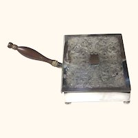 Hors d'oeuvres Server or Silent Butler, Silverplate, Vintage