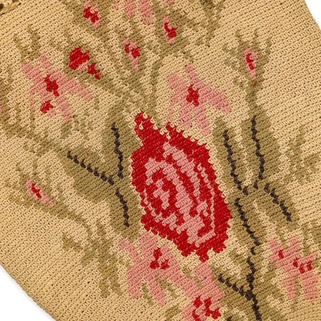 Woven and Crochet Reticule Purse, 19th Century : The Discerning ...
