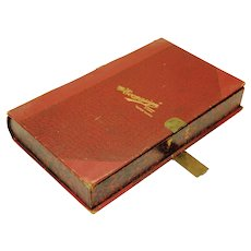 "Book-form box ""The Econasign"", early 20th century"