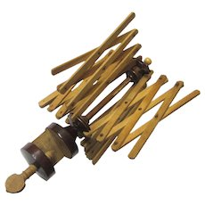 Table Clamp Thread/Yarn Winder or Swift, Victorian