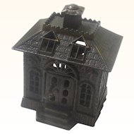 "Cast Iron ""State Bank"" Money Box/Still Bank, Kenton US, c1900"