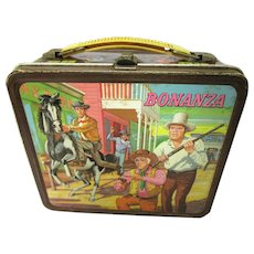 Classic Bonanza Lunch Box, Aladdin Industries Incorporated, c1965