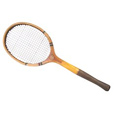 Antique Ladies Tennis Racket LADY CLAIRE by Goldsmith Ohio