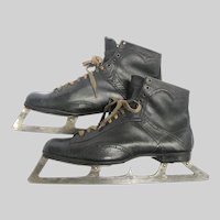 Antique Goalie Ice Skates Patent Date 1897 Henry Boker's Dominion Skates