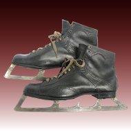 Antique Goalie Ice Skates Patent Date 1897 Henry Boker's Dominion Skates