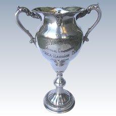 Antique Silver Trophy 1909 - YMCA Harrier Club T.E. Simpson Cup