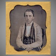 Daguerreotype Young Man - 6th plate - Unhappy Teenager