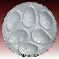 Antique Minton Oyster Plate Porcelain Mark for 1873-1912