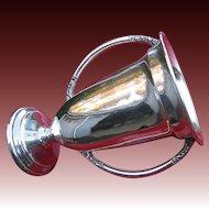 Large Vintage Silver Trophy Not Engraved c1930  NICE