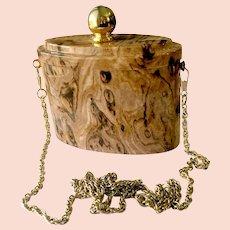 Perfume Bottle-Shaped Lucite Purse Clutch, Marbled Faux Tortoise Shell Color: Y&S Original