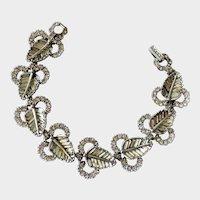 Pennino Decadent Deco-Style Baguette Crystal Bracelet