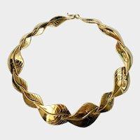 Laurel Burch Golden Leaves Necklace