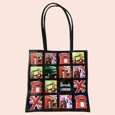Estate Harrods London Shopper Bag, Pop Art-Style