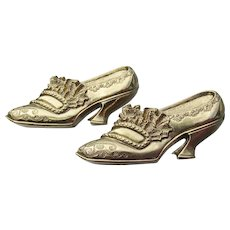 1928 Jewelry Co. Victorian Revival Pair of Shoes Pins