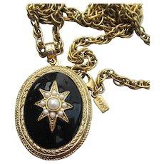1928 Jewelry Co. Vintage Victorian Revival LOCKET Necklace