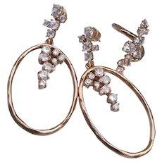 Chloe + Isabel ANNIVERSARY CZ Dangle Earrings + Ring Set