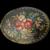 Artist Signed Hand Painted Vintage Floral Enamel Pin