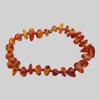 Baltic Honey Amber Vintage Stretch Bracelet