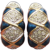 Signed IVANA Trump Vintage Enamel & Rhinestone Shrimp Clip Earrings