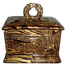 Scroddleware Dresser Box w/Molded Decoration
