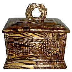 Scroddleware Dresser Box w/Molded Decoration