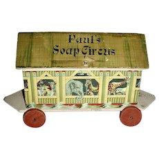 Paul's Soap Circus Toy Ark, c. 1900-1910