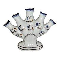Pratt Decorated Quintal Vase, c 1820