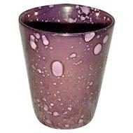 Unusual Pink Lustre Beaker, c. 1820