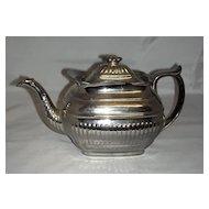 English Silver Lustre Teapot c. 1820