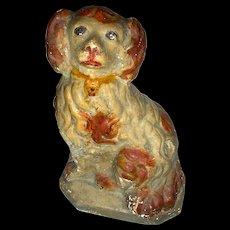 Late 19th Century American Chalkware Dog (Spaniel)