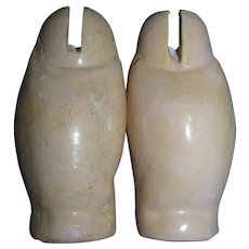 Pair of Antique Composition Thighs for a Ball Jointed Doll!