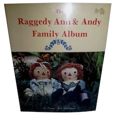 Raggedy Ann & Andy Family Album Book by Susan Ann Garrison!