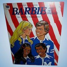 Vintage Barbie All Sports Tournament Paper dolls Mint and Uncut!