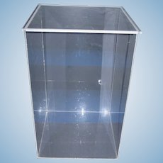 Large Plexiglass Doll Case for your Special Doll!
