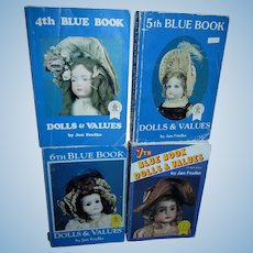 Lot of 4 Blue Books by Jan Foulke!