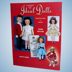 Collector's Guide to Ideal Dolls Third Edition Book Mint and Unused!