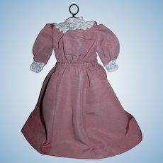 Wonderful Custom made Rose Pink Dress for your 162 Kestner Lady Doll