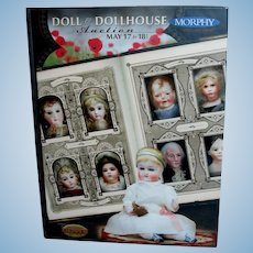 Morphy Doll & Dollhouse Hard Cover Auction Book Brand New!