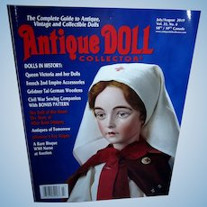 Antique Doll Collector July/August Mint and Unused!