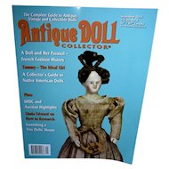 Antique Doll Collector September 2019 Features Ideal TAMMY Mint and Unused!