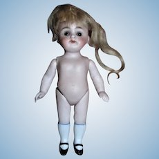 German Antique All Bisque Doll Appears to be Kestner!