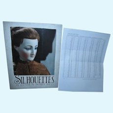 Theriault's September 2005 SILHOUETTES An Auction of Antique Dolls Book with prices realized!