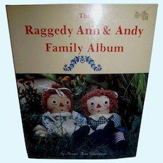 Raggedy Ann & Andy Family Album Book by Susan Ann Garrison!