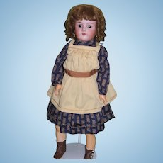 "Antique 24"" German Heinrich Handwerck and Simon & Halbig Bisque Child Doll!"