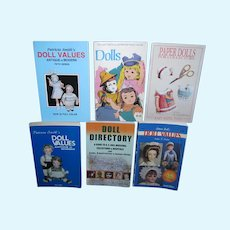 Large Lot of Vintage Collectible Doll Hand Books!