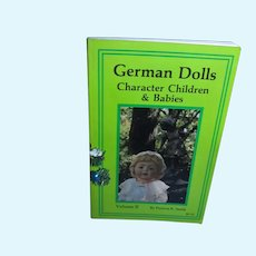 German Dolls Character Children & babies Hand Book by Patricia Smith Mint!